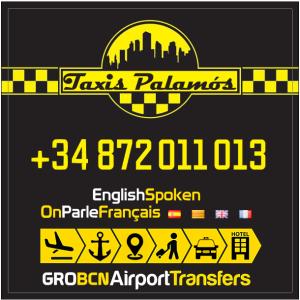 Logo Taxis Palamos